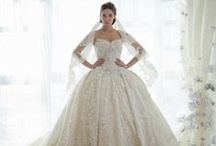 Wedding Style / Wedding Gowns/Bridesmaid Dresses / by Jenn Kopesky