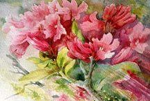 Watercolour & Mixed Media Florals