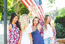 All American Sweetheart! / The best summer collection EVER! Shop the sweetest 4th of July looks TODAY✨  https://goo.gl/7zE1fH