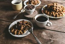 Pancakes & Waffles / Fall into a gooey mass of doughy goodness.