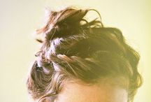 Hair / The simple pleasure of faffing with hair. Styles, up dos and shapes.