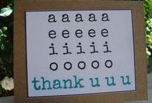 Tell someone THANK YOU / by Keri Sheerer