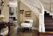 Hall/Entry/landing/stairs / inspirations for the hallway etc