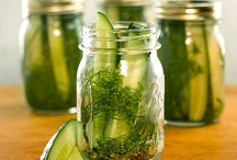 Food {Preservation}  / Shares on how to preserve food from a garden of any size.  / by Bren