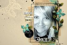 Scrapbook pages  / layouts I like