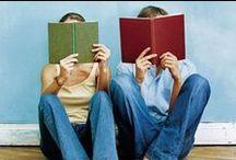 """Leggo...dunque sono / """"Leggo...dunque sono"""" =  """"I read so I exist """"  / by Elisabetta Castelpietra"""