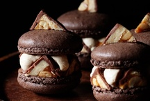 m a c a r o n s / #macarons #baking #french #desserts / by KiranTarun.com