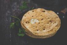 Paratha + Naan + Flat Bread + Tortilla / by KiranTarun.com