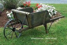 amish wheelbarrows