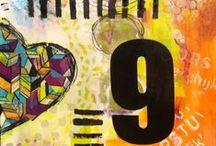 Journal Art by CLEEN / Mixed Media experiments http://goo.gl/muZru4