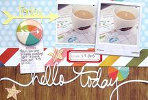 Story Time: Scrapbook Circle February 2013 kit
