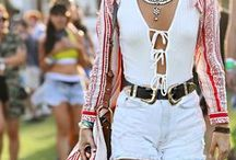 Festival Fashion / From Coachella to Stage Coach, get outfit ideas on music festival fashion. See more on Sydne Style: http://www.sydnestyle.com/tag/coachella