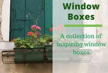 Home | Window Boxes / This board is filled with window box ideas that will welcome your family and friends every season.  More on my site at https://brenhaas.com/?s=windowbox