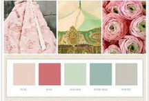Colour / colour swatches/combos