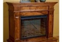 Amish Fireplaces / Keep cozy this winter with an Amish handcrafted Fireplace!