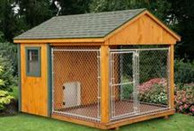 Heated Dog Kennels / Keep your pups warm this winter with a beautiful heated Dog Kennel.