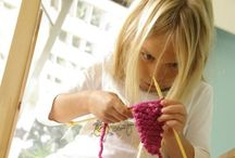 Kid-knitting