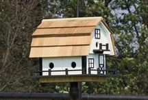 amish birdhouses / We love the cute designs of these Amish made Birdhouses