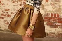 G is for Gold / See how to wear all the hottest Fall/Winter 2014 trends in the Sydne Style A-Z Trend Guide   http://www.sydnestyle.com/a-z-trend-guide-fallwinter-2014-runway/ #sstrendguide / by Sydne Summer