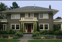 Exterior Paint Schemes / Exploring possible new paint schemes for my home exterior.