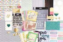 Hello Sunshine Kit / Ideas using the Scrapbook Circle May 2015 Kit
