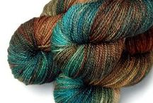 Indie dyers gorgeous yarn / Beautiful hand dyed yarns that must be seen.