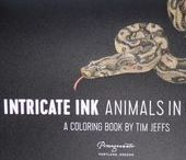 Tim Jeffs - Intricate Ink Animals In Detail volume 1 & Detailed Animal Sketches 2, 3 / Tim Jeffs - Intricate Ink Animals In Detail volume 1 & Detailed Animal Sketches 2, 3