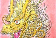 Sárkánytan / Dragonology / Dr. Ernest Drake's Dragonology - A colouring companion
