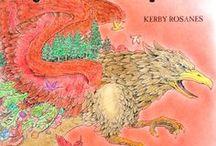 Kerby Rosanes - Mythomorphia / Színezéseim Kerby Rosanes Mythomorphia könyvéből. My colorings from Kerby Rosanes' Mythomorphia colouring book.