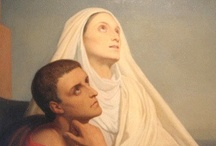"Saints / Catholic Saints -- For more information about my favorite saints, check out my new book ""A Book of Saints for Catholic Moms"" at http://goo.gl/ygzq0 / by Lisa Hendey"