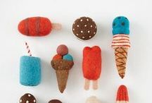 Felt Inspiration / felted characters / by Cathie Toshach   tinsel + trim