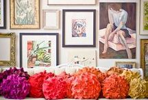 Decor - For the Wall / by Cathie Toshach   tinsel + trim