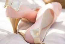 Blush Pink & Gold hues / One of my absolute favourite colour combinations, so romantic
