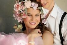 Pastel floral hues / Soft and gentle combinations for a truly romantic wedding