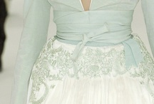 Mint green, Azore hues & Lace - Colour/theme ideas / Soft and tranquil combination fresh with a hint of vintage