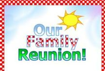 Family Reunion Crafts / Family reunion event crafts including personalized apparel ensembles, invitations, favors and fliers. #DIY #DIY_&_Crafts #familyreunions #family-reunions #family_reunions #family