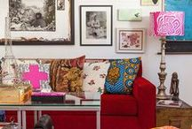 Decor - Living Room / by Cathie Toshach   tinsel + trim
