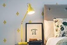 Decor - Lighting / by Cathie Toshach   tinsel + trim