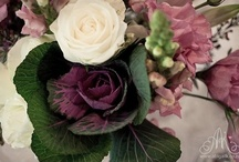Sage, pink & Aubergine hues / Something completely different!