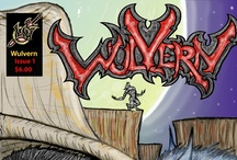 Wulvern Graphic Novel / Indie #comicbook about a werewolf hunter in the ole west. #fantasy #comics #graphicnovel / by Christopher Gaynor