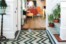 c h e v r o n / Bring on the chevron!  / by Zinc Door