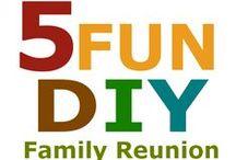 Family Reunion Planning Ideas