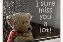 I miss you / by Kathy