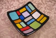 Fused Glass / Find your inspiration and come to Brush With Art to bring it to life! Select your project, arrange your colored glass pieces, and we fire it for you! Great for ages 12 and up!