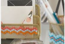 Organize - Desk Accessories / by Cathie Toshach   tinsel + trim