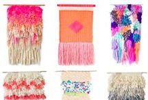 Weaving Inspiration / by Cathie Toshach   tinsel + trim