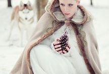 Winter brides - cloaks, wraps, shrugs and caplets