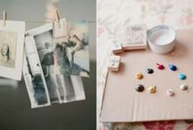Encaustic Inspiration / by Cathie Toshach   tinsel + trim