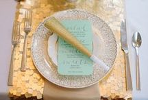 Entertaining - Tablescapes / by Cathie Toshach   tinsel + trim