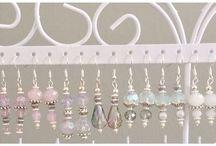 Crystal gems / Glass crystal jewellery Home made by Joanna Barker-Hervey Sherbet Crafts http://www.sherbetcrafts.co.uk